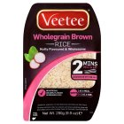 Veetee dine in wholegrain brown rice - 280g