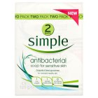 Simple Antibacterial Soap - 2x125g
