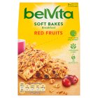 Belvita Breakfast 5 Soft Bakes Red Berries - 250g Brand Price Match - Checked Tesco.com 02/09/2015
