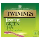 Twinings green tea & jasmine 80 teabags - 200g