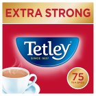 Tetley extra strong 75 tea bags - 237g