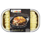 menu from Waitrose Crunchy topped shepherds Pie