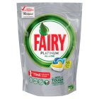 Fairy platinum dishwashing tablets lemon 60s
