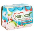 Benecol Yogurt Drink Cranberry & Apple - 6x70g