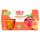 Nature's Finest Diced Peach in Juice - 4x120g
