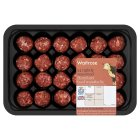 Waitrose 24 Hereford beef meatballs - 400g