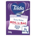 Tilda wholegrain basmati cook in the bag rice - 2x125g