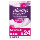 Always discreet liners - 24s