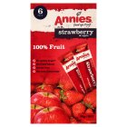 Annies strawberry & apple bar