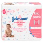 Johnson's Gentle All Over Baby Wipes - 224s