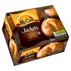 McCain 2 ready baked jackets - 400g Brand Price Match - Checked Tesco.com 05/03/2014