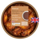 Waitrose British sticky barbecue roast chicken wings - 400g