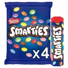 Smarties tube multipack - 4x38g Brand Price Match - Checked Tesco.com 29/09/2015