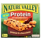 Nature Valley protein peanuts & chocolate - 5x30g Brand Price Match - Checked Tesco.com 30/11/2015