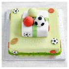 Fiona Cairns 2 Tier Multi Sports Cake - each