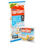 Burton's 5 fish 'n' chips salt & vinegar - 125g