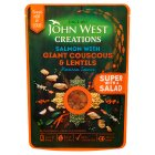 John West Creations Salmon with Giant Couscous & Lentils - 180g
