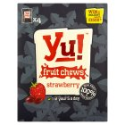 Yu! fruit chews strawberry - 4x24g Brand Price Match - Checked Tesco.com 14/04/2014