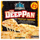 Chicago Town the deep pan triple cheese - 405g Brand Price Match - Checked Tesco.com 23/02/2015