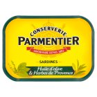 Hyacinthe Parmentier sardines in olive oil with herbs de Provence - drained 95g