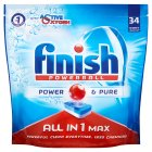Finish Power & Pure, 32 dishwasher tablets - 600g