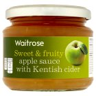 Waitrose apple sauce with Kentish cider - 200g