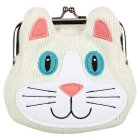 Aroma Home love cats coin purse -