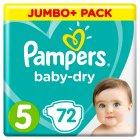 Pampers Baby-Dry 5 11-23kg - 72s