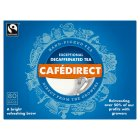 Cafédirect decaffeinated tea 80 tea bags - 250g