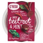 G'Nosh beetroot & mint dip - 150g