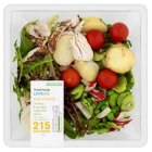 Waitrose Love life chicken & garden vegetable salad - 300g