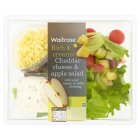 Waitrose Cheddar cheese & apple salad - 155g