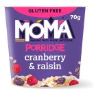 Moma Cranberry & raisin porridge - 76g