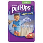 Huggies Pull Ups Nightime Potty Training Pants, Boy, Medium 11-18kg - 10-18kg M Boys