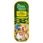John West Smoked Mackerel Fillets - drained 83g