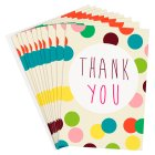 Caroline Gardner Spot Thank You Cards - 10s