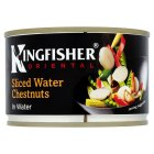 Kingfisher Oriental canned sliced water chestnuts in water - drained 140g Brand Price Match - Checked Tesco.com 30/07/2014