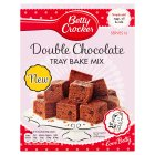 Betty Crocker double chocolate tray bake - 420g