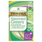 Twinings Steamed Green Teas Selection 20 Tea Bags - 37.5g