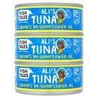 Fish Tales Ali's Tuna Chunks in Sunflower Oil - drained 3x112g