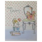 Happy Birthday With Love Birthday Card - each