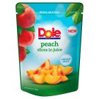 Dole Peach Slices In Juice - drained 220g