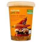 Waitrose LOVE life chicken & quinoa soup - 600g