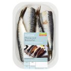 Waitrose fresh, seasonal British sardines