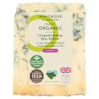 Waitrose Duchy Organic Cropwell Bishop Blue Stilton cheese, strength 5 - 150g
