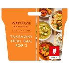 Waitrose Asian Takeaway Meal Bag For 2 - 1126g