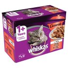 Whiskas 1+ Casserole in Jelly Meaty Selection - 12x85g
