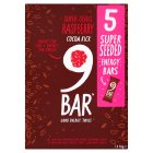 9Bar Super Seeds Raspberry Cocoa Kick - 5x40g