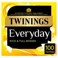 Twinings everyday 100 tea bags