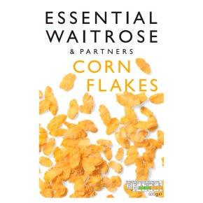essential Waitrose corn flakes